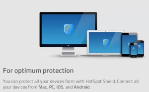 HotSpot Shield Supported Devices