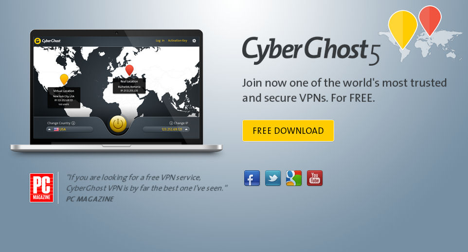 download free cyberghost 5